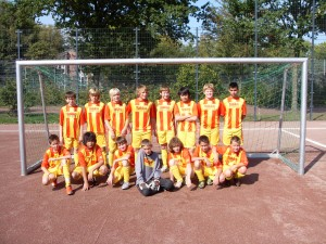 Schulmannschaft Jungen 2009