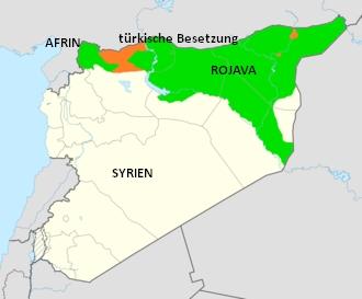 Syrien Karte Aktuell 2018.Perspektive Rojava Solidaritatskomitee Munster